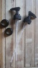 2 DIY Black Soap Hand Lotion Mason Jar Plastic Dispenser Pump