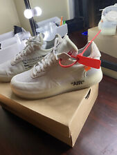 Nike Air Force 1 Low x OFF-WHITE The Ten 2017(mens Size 9.5)