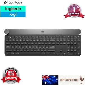 Logitech Craft Advanced Wireless Keyboard w Creative Input Dial Backlit Keys TS
