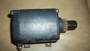 Tecumseh OEM Used 12V Starter Motor PN: 33605  Good condition . Was tested