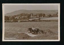 Dorset CERNE ABBAS Motor Car Used 1920 RP PPC