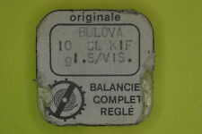 Balance complete BULOVA 10 CL KIF S.VIS GLUC. bilanciere completo 721 NOS