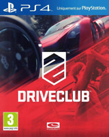 DriveClub  PS4 (Sony PlayStation 4, 2014) Brand New - Region Free