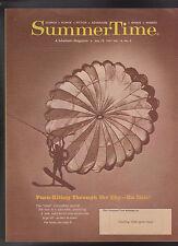 Summertime Magazine July 18 1967 Parachute Cover Para-Kiting