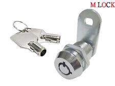 "LOT OF 10 7/8"" Tubular Cam Lock; MACHINE CABINET BOX DRAWER KIOSK 2400AM-0501"