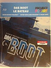 "NEW/SEALED - DAS BOOT STEELBOOK (bluray/2012) Future Shop ""Pop art"" Limited Ed"