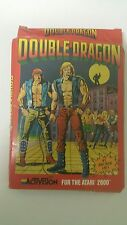 NEW W/Crushed box Double Dragon Game for Atari 2600 PAL ( NOT USA OR CANADA )
