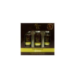 Moroccan Argan Oil Extract Hair Treatment Shots 3 x 12ml Intensive Repair Damage