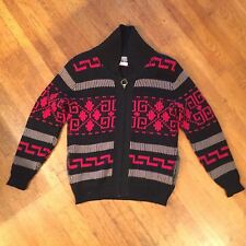 Vintage Pendleton Big Lebowski Sweater Dude High Grade Med Wool Shawl Cowichan
