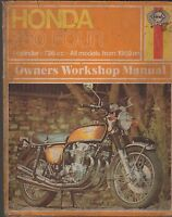 HAYNES 1969 & ON HONDA 750 FOURS  OWNERS SERVICE MANUAL  (469)