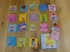 Memory Game Replacement Cards DOC McSTUFFINS Lot of 38 Disney USe01