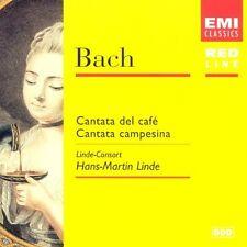 Bach: Cantatas (Cantata del Cafe ,Campesina) HANS-MARTIN LINDE OVP