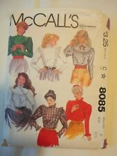 New ListingVintage 1982 Sewing Pattern Blouses Size 8