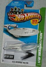 HOT WHEELS Star Trek U.S.S. Enterprise NCC-1701 Battle Damaged Col #60/250