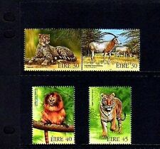 IRELAND - 1998 - TIGER - CHEETAH - TAMARIN - ORYX - ENDANGERED - MINT - MNH SET!