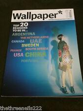 WALLPAPER* MAGAZINE #152 - TOP 20 REASONS - NOV 2011