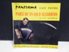 LILY FAYOL Parce qu un air d accordeon / le p'tit quinquin MH66