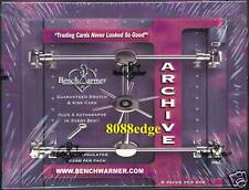 2009 BENCHWARMER ARCHIVE SEALED BOX: 4 AUTOS+KISS+BIKINI SWATCH PER BOX ! 6 HITS