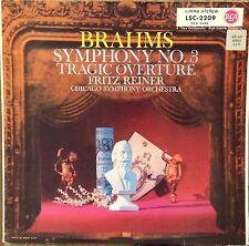 Fritz Reiner/CSO-Brahms Symphony No 3-RCA 2209-STEREO GERMANY