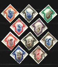 Russia 1935 ,Sc. # 559-568,Spartacist games , CTO,