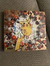 Vintage Pokemon Pikachu Records 1998 Japanese CD Promo Set >>> NO CARDS <<<