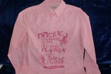 Bluse by CECILIA CLASSICS  Farbe Pink Weiß gestreift Gr. 38