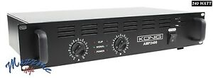 KONIG PA-AMP2400-KN AMPLIFICATORE FINALE SEMI PROFESSIONALE 2x120Wrms 480 WATT