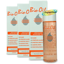3x Bio Oil Specialist 125ml Scars Stretch Marks Dehydrated Aging Skin Body
