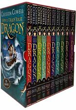 How to train your dragon book set the works