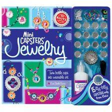 Klutz Mini Capster Jewellery Book - Children's Jewllery Making Bottle Cap Craft
