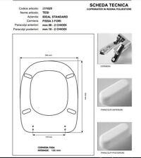 Sedile Tesi Ideal Standard Bianco Europa.Sedile Tesi Ideal Standard Acquisti Online Su Ebay