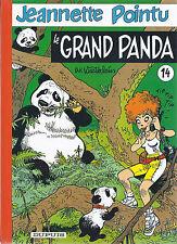 BD  Jeannette pointu- N°14   - Le grand panda  - EO .1999  TBE - Wasterlain