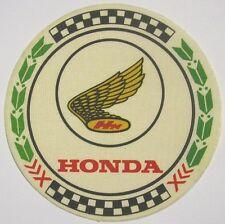 Vecchio Adesivo da Collezione in materiale telato / Old Sticker HONDA (cm 8,5)