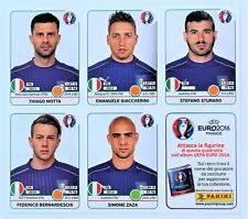 PANINI EURO 2016 France-Update sheet 5 Spécial Sticker ITALIE extra stickers
