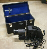 1920's Argus Slide Projector With Hard Case - works! 4 in. Projection Anastigmat