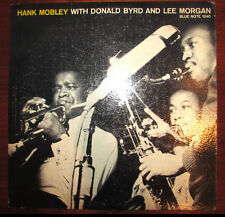 HANK MOBLEY DONALD BYRD LEE MORGAN BLUE NOTE 1540 LP ORIGINAL EARMARK ENGRAVING