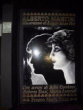 ALBERTO MARTINI illustrator by Edgar Allan Poe, Franco Maria Ricci 1994
