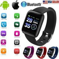 Smart Watch Band Sport Activity Fitness Tracker For Kids Fit# bit Android iOS US