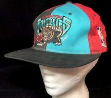 Vtg Vancouver Grizzlies SnapBack Hat NBA Basketball Team Logo Starter Cap Sport