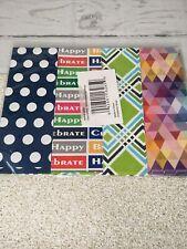 All Occasions Gift Wrap Paper Flat Wrap Geometric Polka Dot Celebrate Charleston