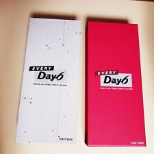"K-POP DAY6 CONCERT ""EVERY DAY6 CONCERT IN July"" Official Limited Ticket Book"