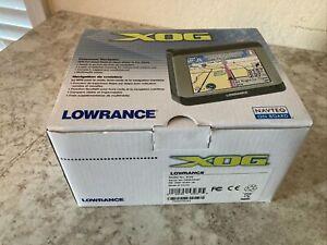 LOWRANCE XOG ON BOARD GPS NAVIGATION DEVICE