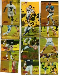 (55) 1995 SELECT CERTIFIED FOTTBALL MIRROR GOLDS