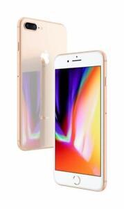Apple iPhone 8 Plus 64GB Gold 🍎 Verizon AT&T GSM Unlocked Very Good Smartphone