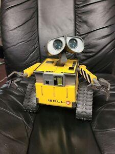 Disney Pixar Thinkway Toys Wall-E U Command Programable Robot Nice FS