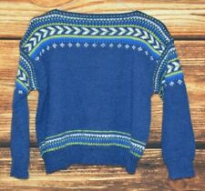 Boys Wool Traditional Norway sweater Size 7-8