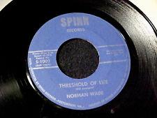 NORMAN WADE Threshold Of Life/Crying At 3 A.M. RARE COUNTRY 45 SPINN Hear