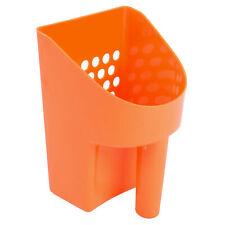 "8 1/2"" Orange Hand Held Plastic Metal Detector Sand Scoop for Gold Prospecting"