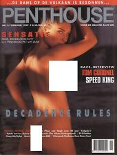 Dutch Penthouse magazine 1999-02 Samantha Stewart, Nikie St. Gilles