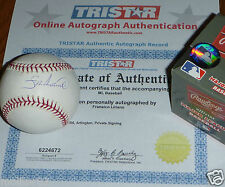 PITTSBURGH PIRATES FRANCISCO LIRIANO AUTOGRAPHED AUTO MLB BALL BASEBALL TRISTAR